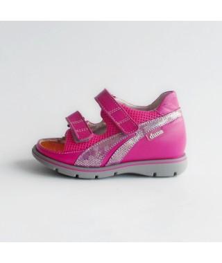 Sandalo aperto da bambina color ciclamino DUNA SPRINT