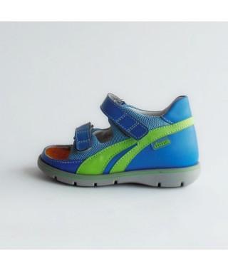 Sandalo aperto da bambino color turchese DUNA SPRINT