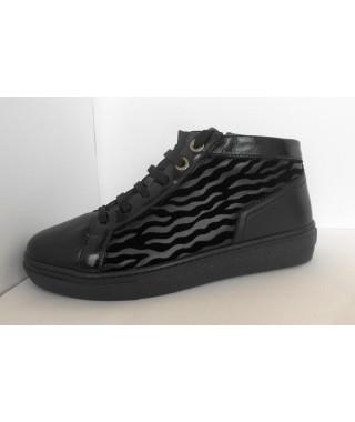 Sneakers da donna nero HERGOS