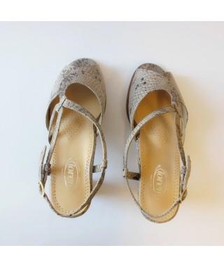 Sandalo con tacco LOREN