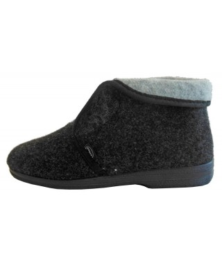 Adelie MC Pantofola da donna colore grigio scuro Scholl