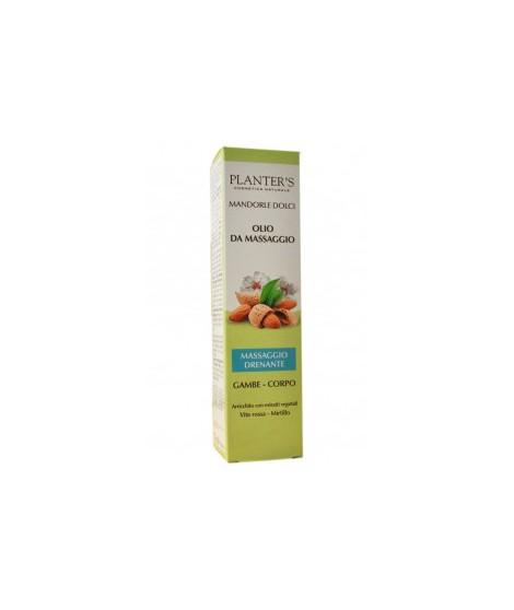 Planter's olio mandorle massaggio drenante 150 ml