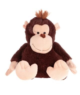 Monkey peluche riscaldabile