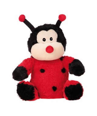 Ladybug peluche riscaldabile