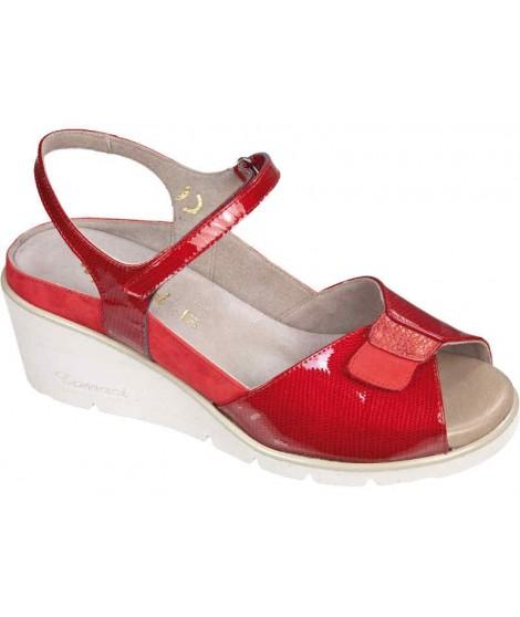 Sandalo da donna colore oro/beige F.LLI TOMASI