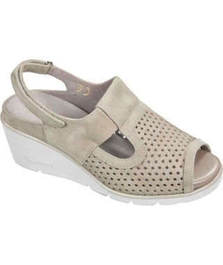 Sandalo alto da donna ALBA FORATO SABOT F.LLI TOMASI