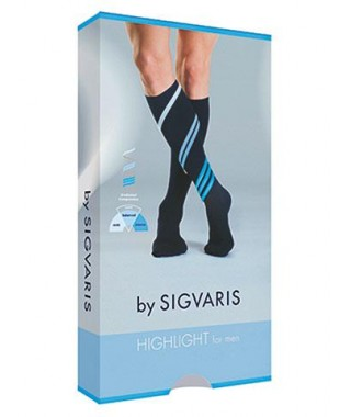 HIGHLIGHT for men - Calza a compressione leggera