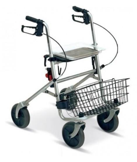 Rollator 4 ruote con cestino WIMED