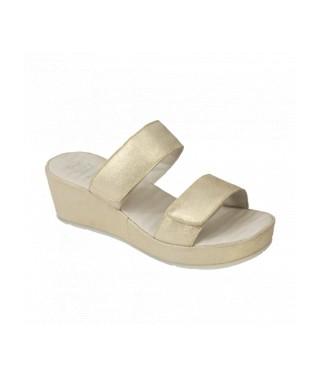 Scholl sandalo senza cinturino con fasce a strappo tecnologia Memory cushion Cora