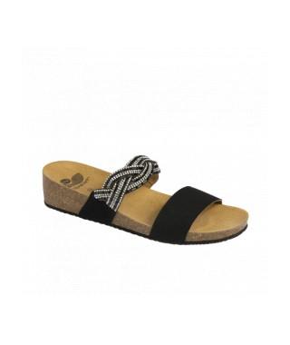 Scholl sandalo con Strass Diadema