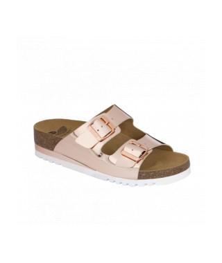Scholl sandalo senza cinturino effetto specchio Glamm SS 2
