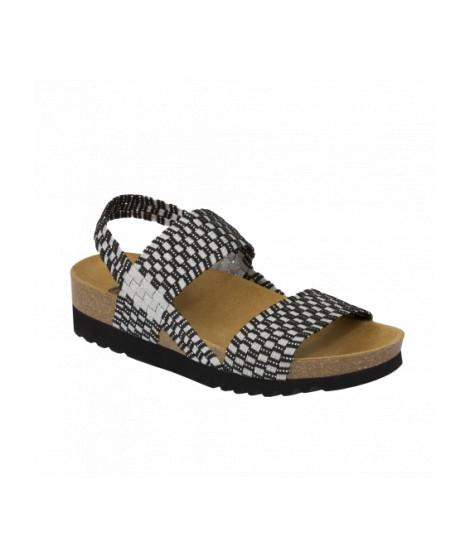 Scholl sandalo con cinturino elasticizzato Kaory