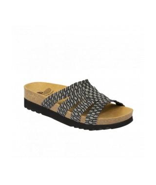 Scholl sandalo senza cinturino elasticizzato Saiki