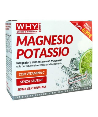WHY SPORT - MAGNESIO POTASSIO e VITAMINA C