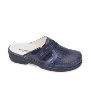 Goldstar pantofola ortopedica blu linea Newcomfort MOD 3748