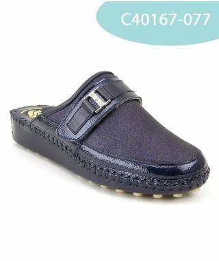 MEDDY calzatura con suola in pelle cucita a mano MOD 40167