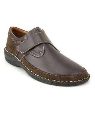 MEDDY calzatura uomo MOD 50568 testa di moro