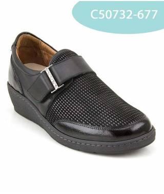 MEDDY scarpa in naplak con strappo MOD 50732