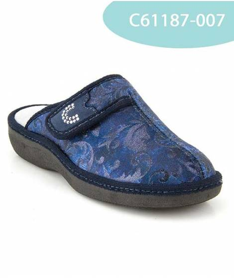 MEDDY pantofola in velluto MOD 61187