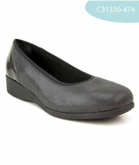 MEDDY calzatura donna decolletè con zeppa
