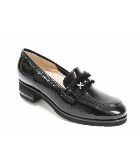 Loren scarpa mocassino con tacco donna