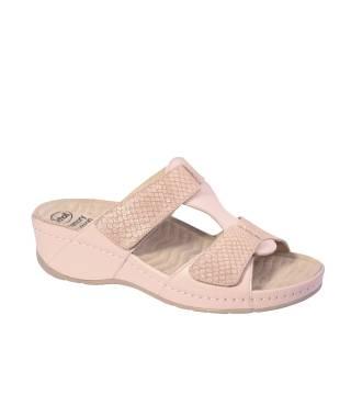Scholl sandalo con velcro senza cinturino da donna PRIMULA