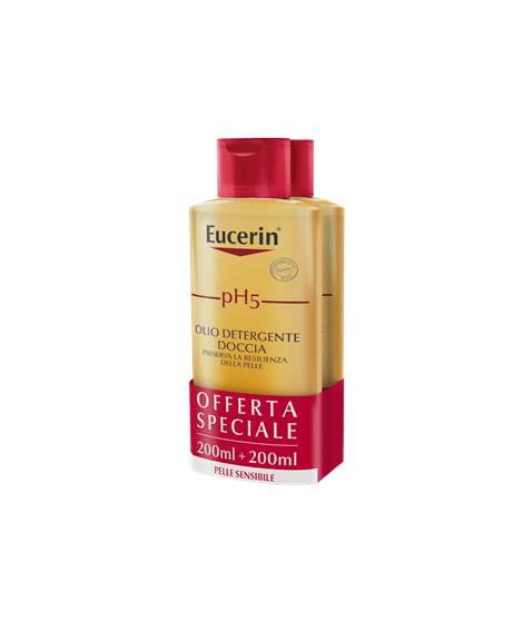 Eucerin pH5 Olio Detergente Doccia - 2X200 ml - PROMO BIPACCO