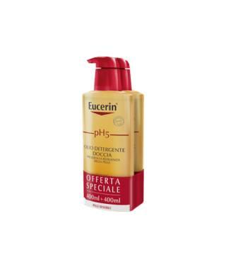 Eucerin pH5 Olio Detergente Doccia - 2X400 ml - PROMO BIPACCO