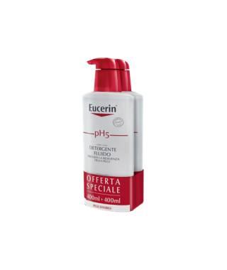 Eucerin pH5 Detergente Fluido - 2X400 ml - PROMO BIPACCO