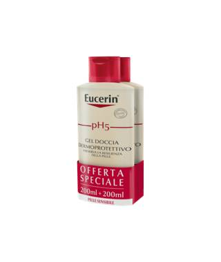Eucerin pH5 Gel Doccia Dermoprotettivo - 2X200 ml - PROMO BIPACCO