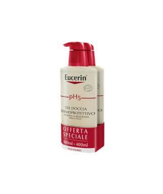 Eucerin pH5 Gel Doccia Dermoprotettivo - 2X400 ml - PROMO BIPACCO