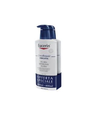 Eucerin UreaRepair Fluido Detergente 5% Urea - 2X400 ml - PROMO BIPACCO