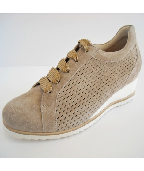 Scarpe sportive rosa con allacciatura elasticizzata per donna Dude Shoes Calidad Superior Del Envío Libre TeQGFI66m1