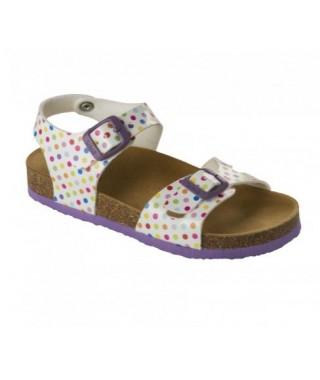 Sandalo da bambina Multicolor Smyley Kid SCHOLL